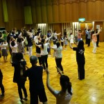帯のまち流し踊り練習風景